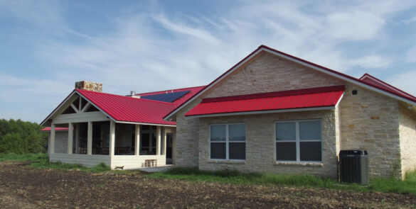 High Performing Farm Home with Solar Assistance